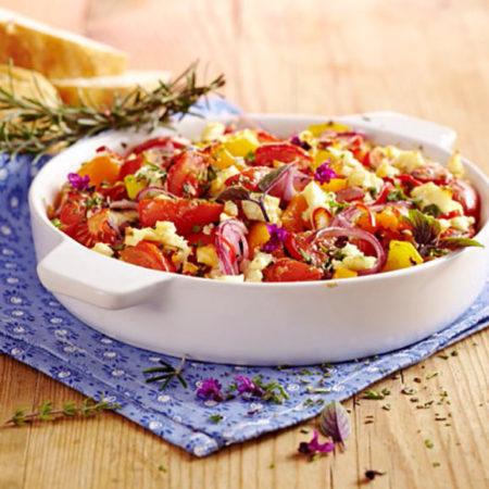 Mediterranes Gemüse mit Salakis