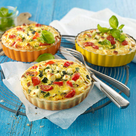 Mini Salakis Quiche